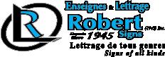 Lettrage Robert